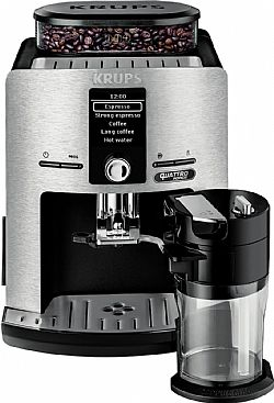 Krups EA82FB Automatic Καφετιέρα Espresso Silver