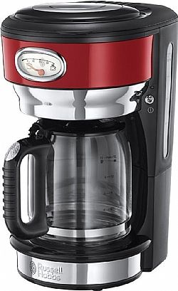 Russell Hobbs 21700 Retro Ribbon Red Καφετιέρα φίλτρου 1000W