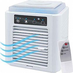 Pure Air hv-pa001 Φορητό Mini Air Cooler 3 σε 1 με Τηλεχειρισμό